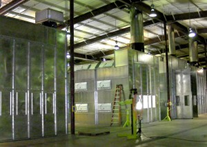 Large Equipment Paint spray Booths