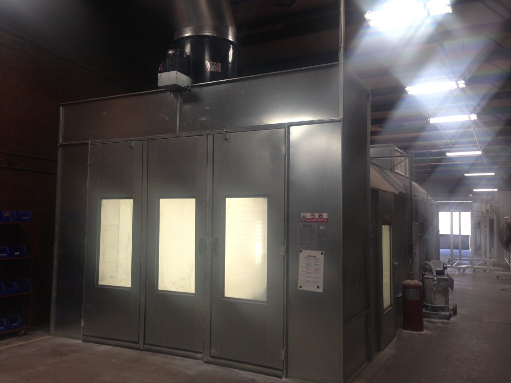 Galvanized Booth from Standard Tools