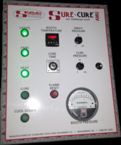 SureCure control panel