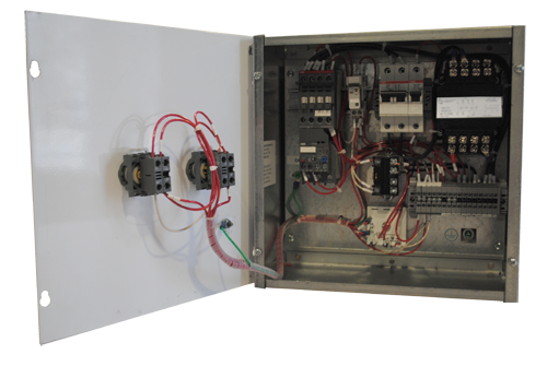 1 Motor/3-Phase Paint Booth Electric Control Panel: Paint Booths   Spray Booth Wiring Diagram      Paint Booths